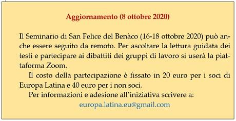 Aggiornamento 2020.10.08